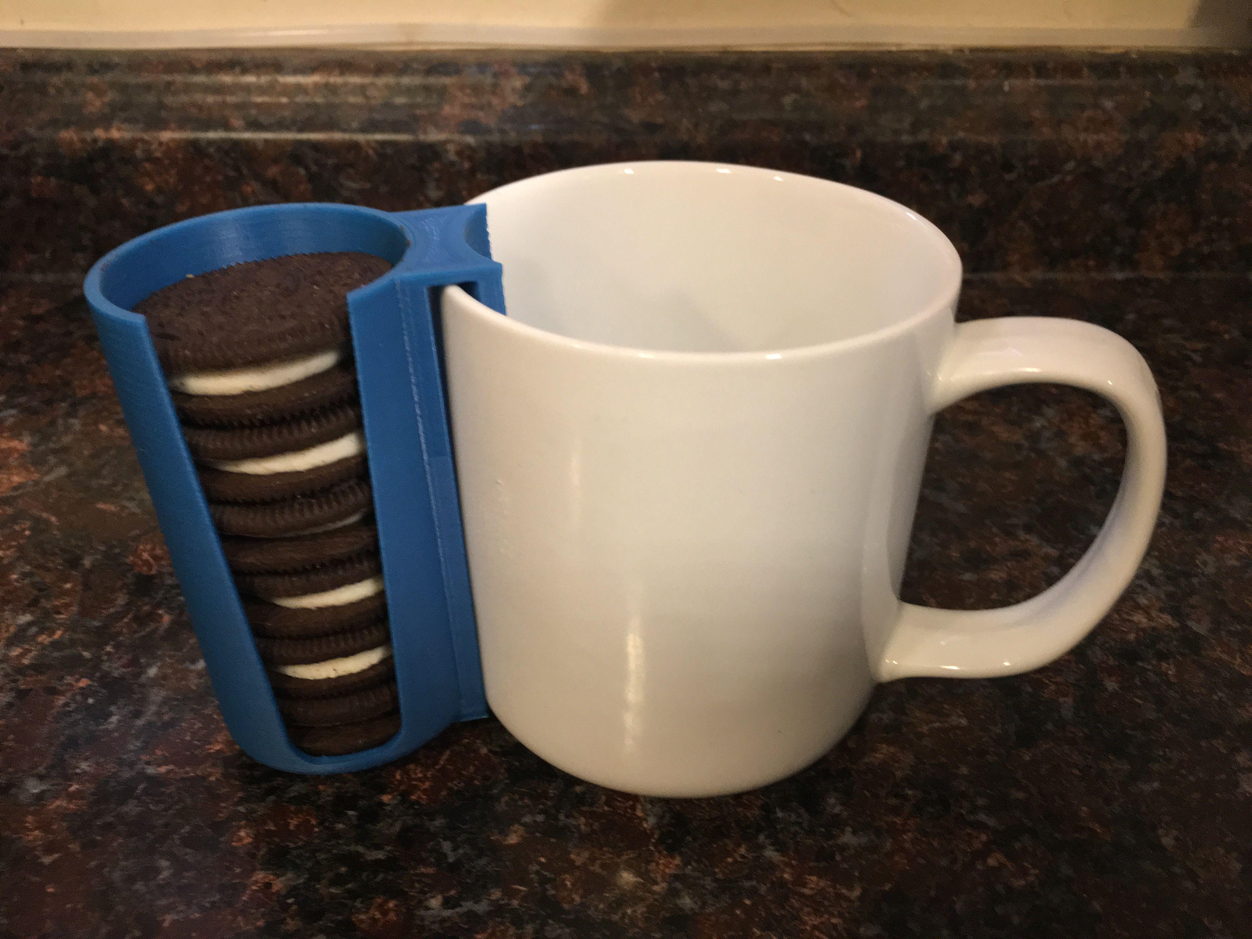 Oreo Cookie Holder 3d Printed For Oreos Or Generic Cookies Like Holds 6 Double 7 Single Comes I Tea Bag Mug Christmas Mugs