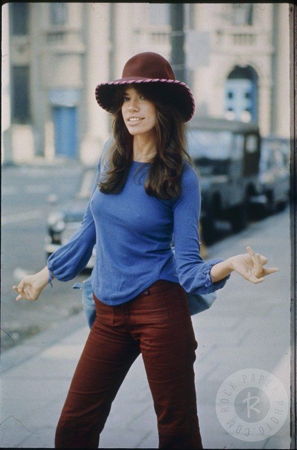Carly Simon In London During The Recording Of The Album