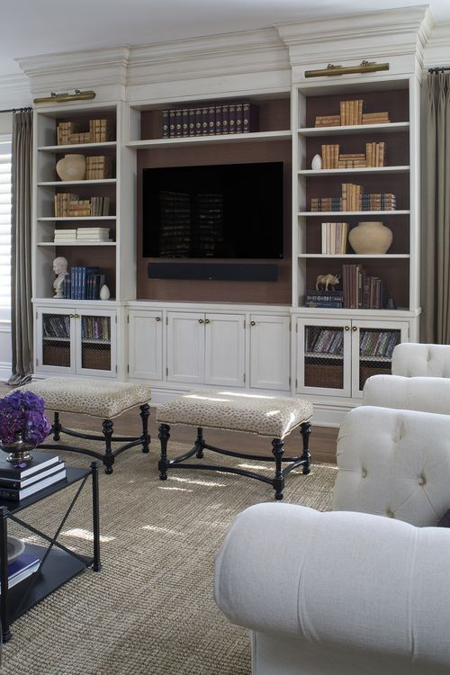 4 Ways To Disguise A Tv Gallerie B Living Room Remodel Living Room Built Ins Room
