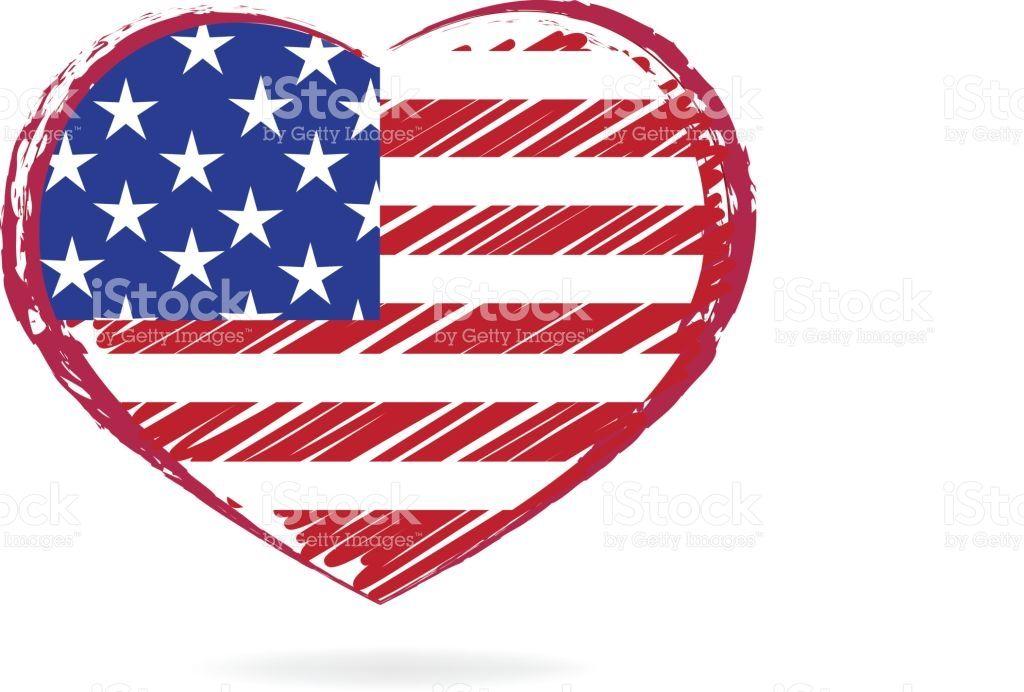 Image Result For Heart Love Usa Flag Logo Usa Flag Flag Logo Flag