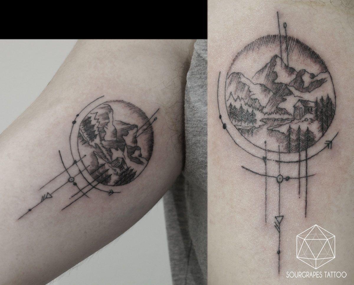 SINGLE NEEDLE MOUNTAIN MICRO TATTOO 13.22 Tattoo Studio