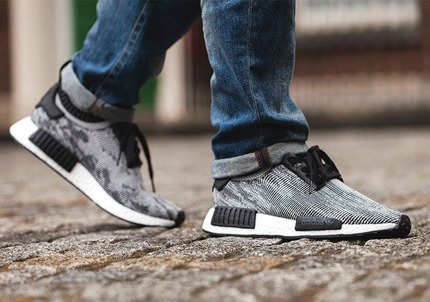 online store 09f1e 02f7b Adidas+NMD+Nomad+Runner+NMD_R1+PK+Glitch+Primeknit+White+ ...