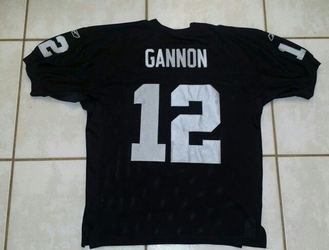 ff7cd54fed3 REEBOK Oakland Raiders Rich Gannon NFL Jersey | Football | Nfl ...