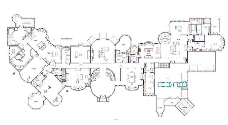 Mega Mansion Floor Plans | Ideas for the House | Pinterest | Mansion ...