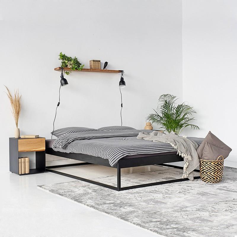 Simplex Das Moderne Bett Ohne Kopfteil 180x200 In 2020 Modernes Bett Schlafzimmer Design Bett Dekor