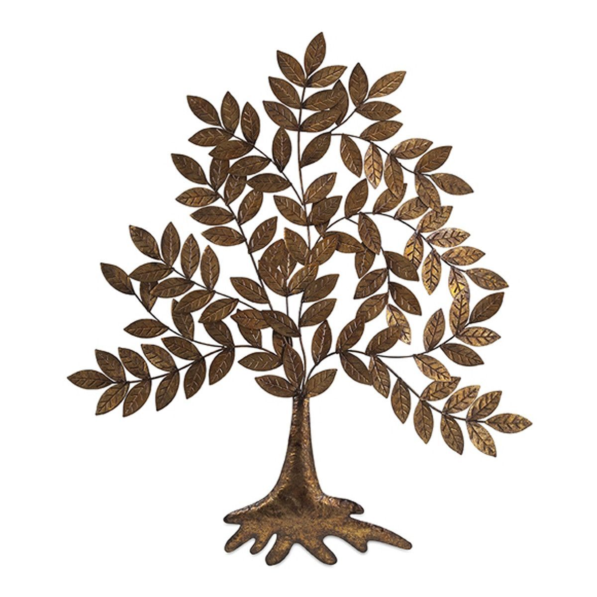 Gilded Tree Wall Decor