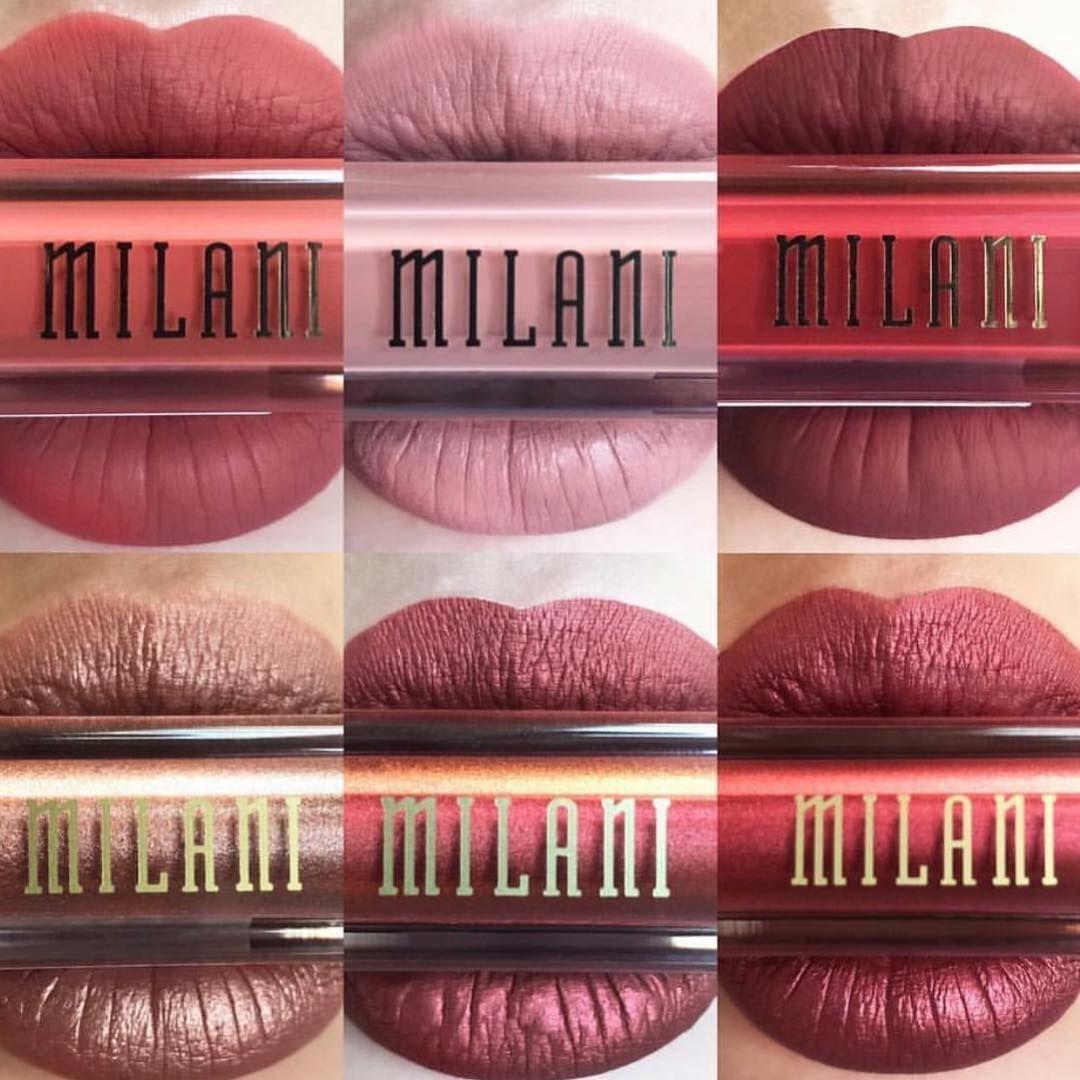 Die 6 neuen Amore Matte Liquid Lipsticks von Milani Cosmetics sind jetzt NEU bei uns im Shop  | Den Link zum Shop findet ihr in der Profilbeschreibung ...❤️...  ......  ......  #liebe #drogerie #glitzer #rossmann #dupe #highlighter #müller #drogeriemarkt #makeup #fashionblogger_de #swatches #beauty #beautyblogger_de #milanicosmetics #instablogger_de #ofracosmetics #lasplashcosmetics #lippenstift #makeupjunkie #lipsticks #nagellack #mädchenkram #rossetto #sale #fit #essencecosmetics #kik...