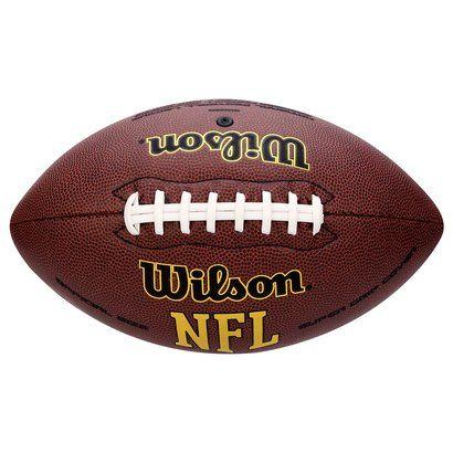 bdf04e465b552 Bola de Futebol Americano Wilson NFL Super Grip