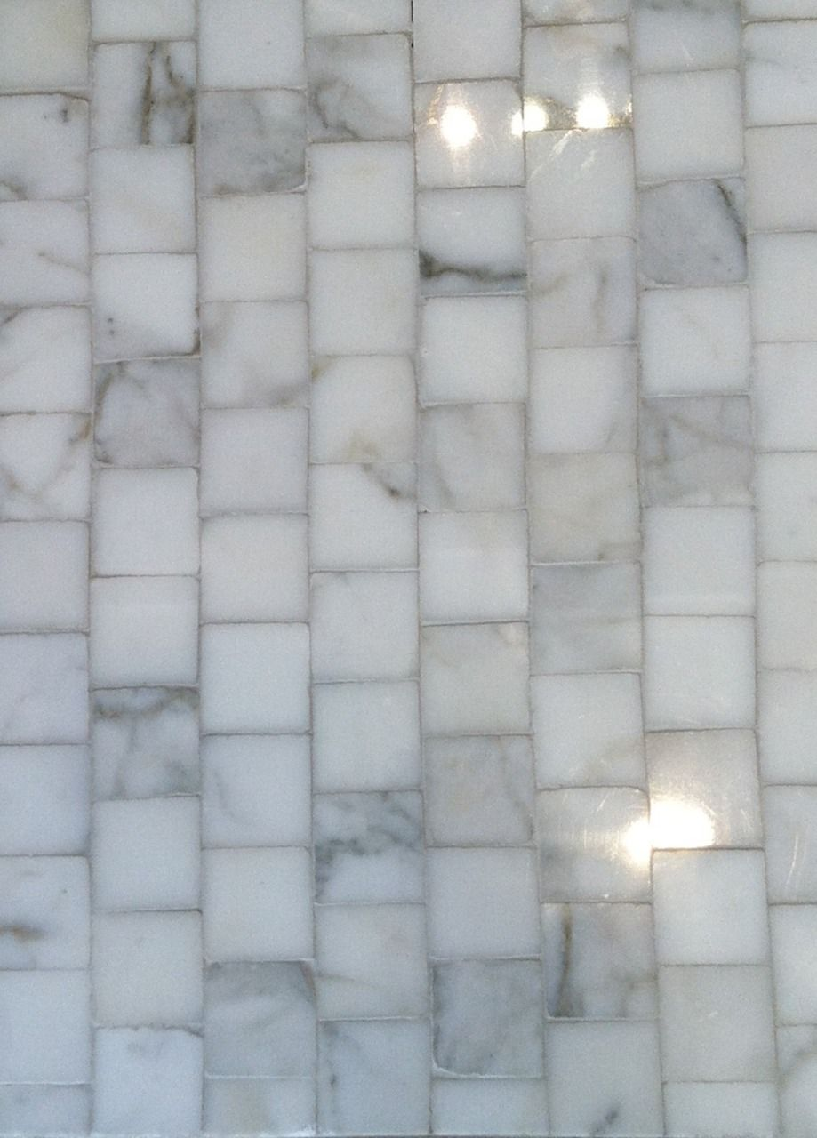 Bethesdastyle Small Square Marble Tile At Waterworks