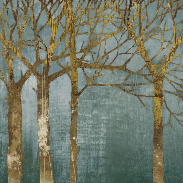 Golden Day Turquoise -             Fototapeten & Tapeten -           Photowall