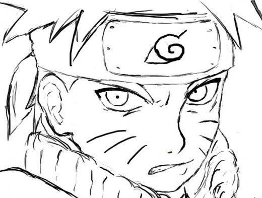 Resultado De Imagem Para Fotos Do Naruto Para Imprimir E Colorir