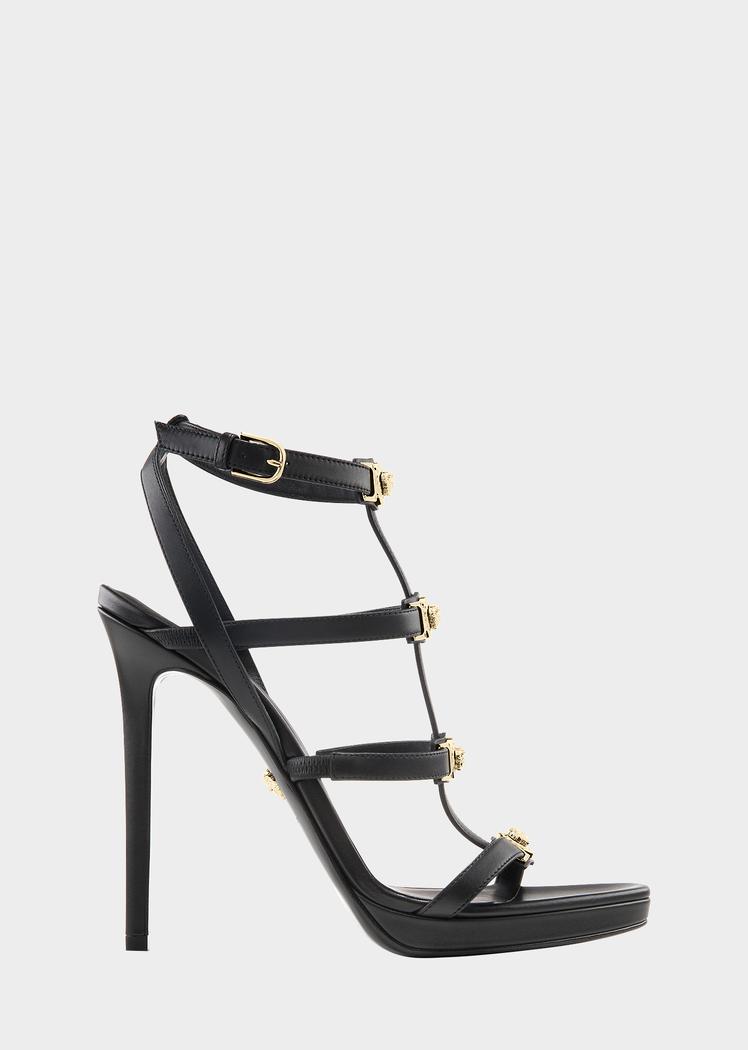 2599edcd2a Versace Signature Medusa Strap Sandal for Women   US Online Store.  Signature Medusa Strap Sandal from Versace Women's Collection. Open toe,  high heel ...