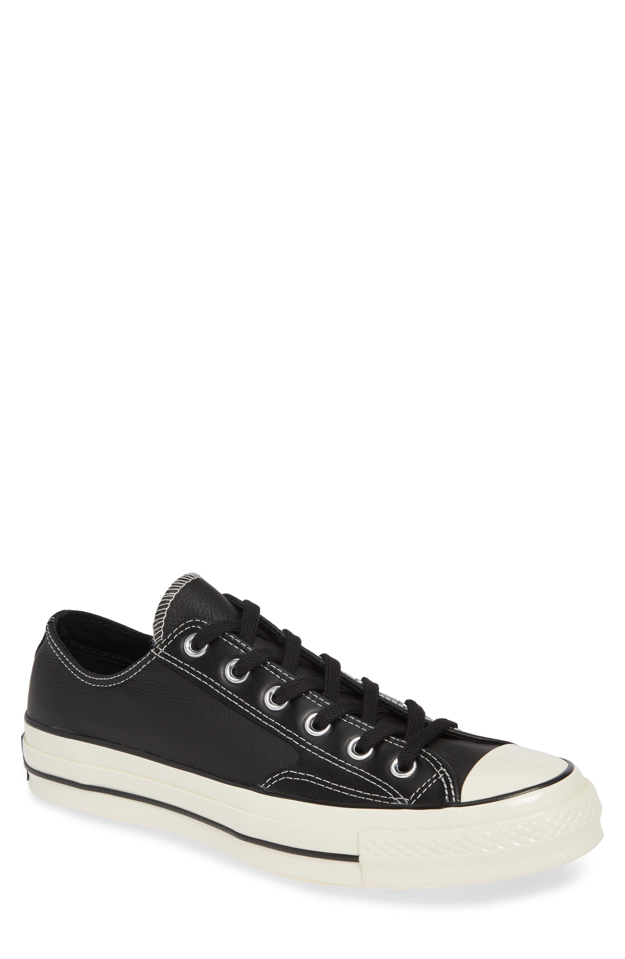 02cb939b403c22 CONVERSE CHUCK TAYLOR ALL STAR 70 LOW TOP LEATHER SNEAKER.  converse  shoes