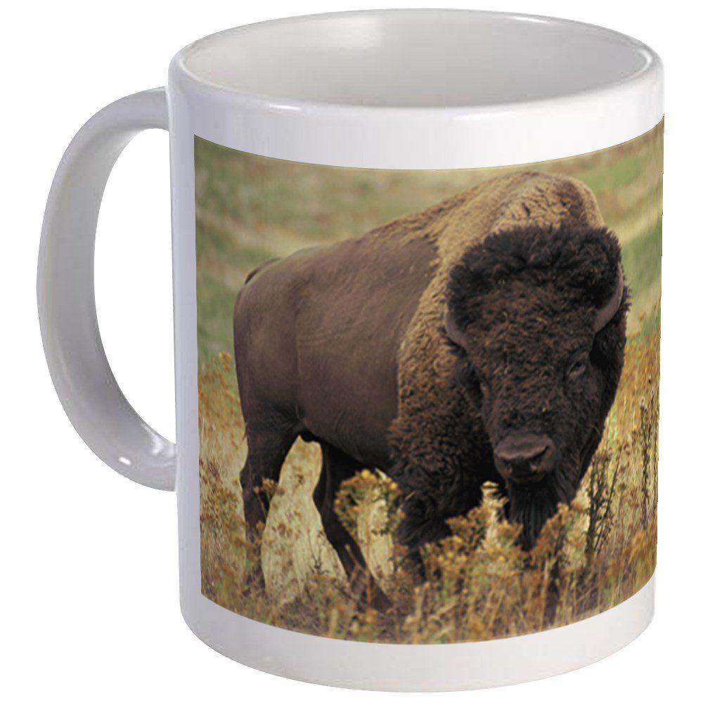 Cafepress bison mug unique coffee mug coffee cup