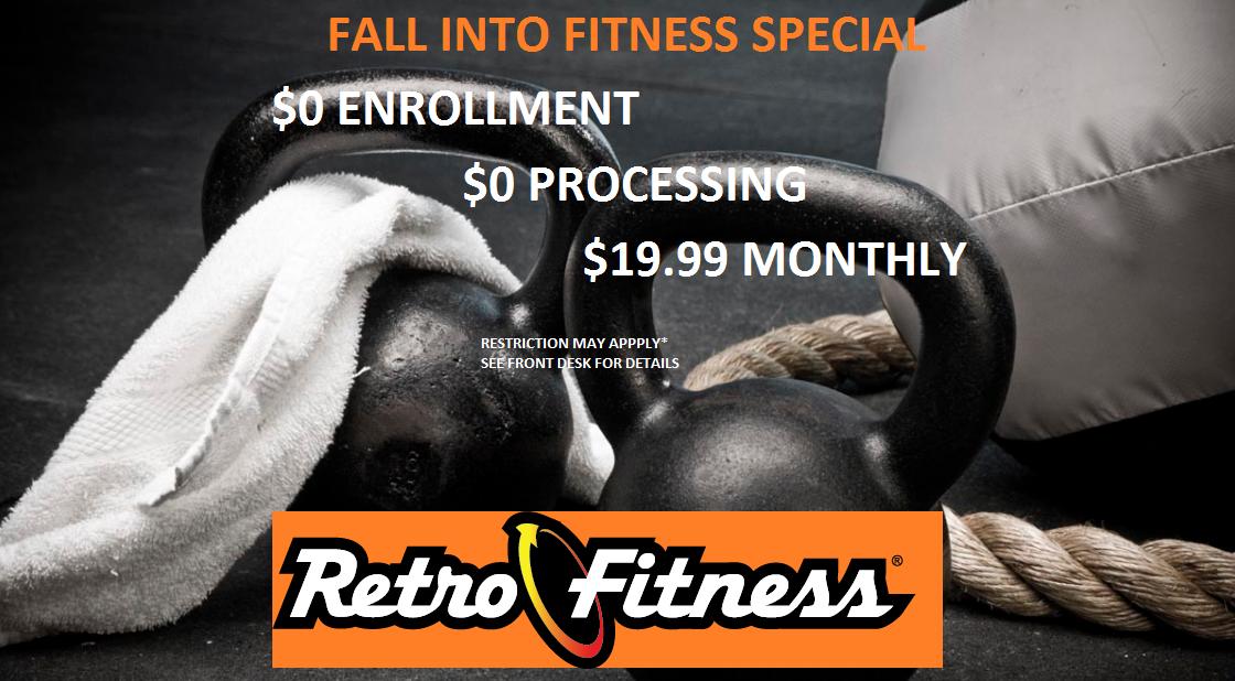 Fall Promotion $0 Enrollment