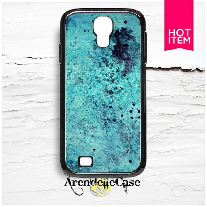 Blue Stone Pattern Samsung Galaxy S4 Case