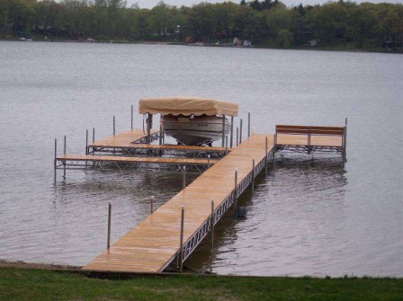 Docks And Accessories In Winnipeg Manitoba Custom Dock