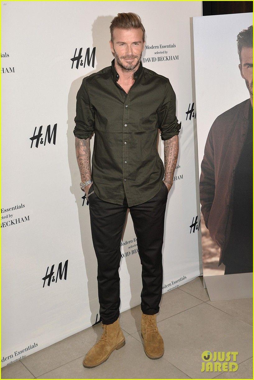Beckham david designs bodywear for ham