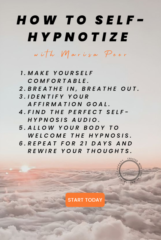 How to Self-Hypnotize with Marisa Peer