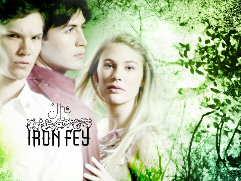 Puck, Ash, and Meghan from The Iron Fey series