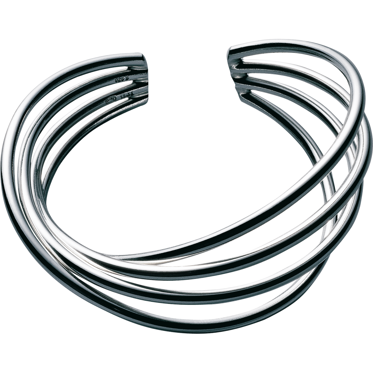 Alliance bangle sterling silver pulseras orfebrería pinterest