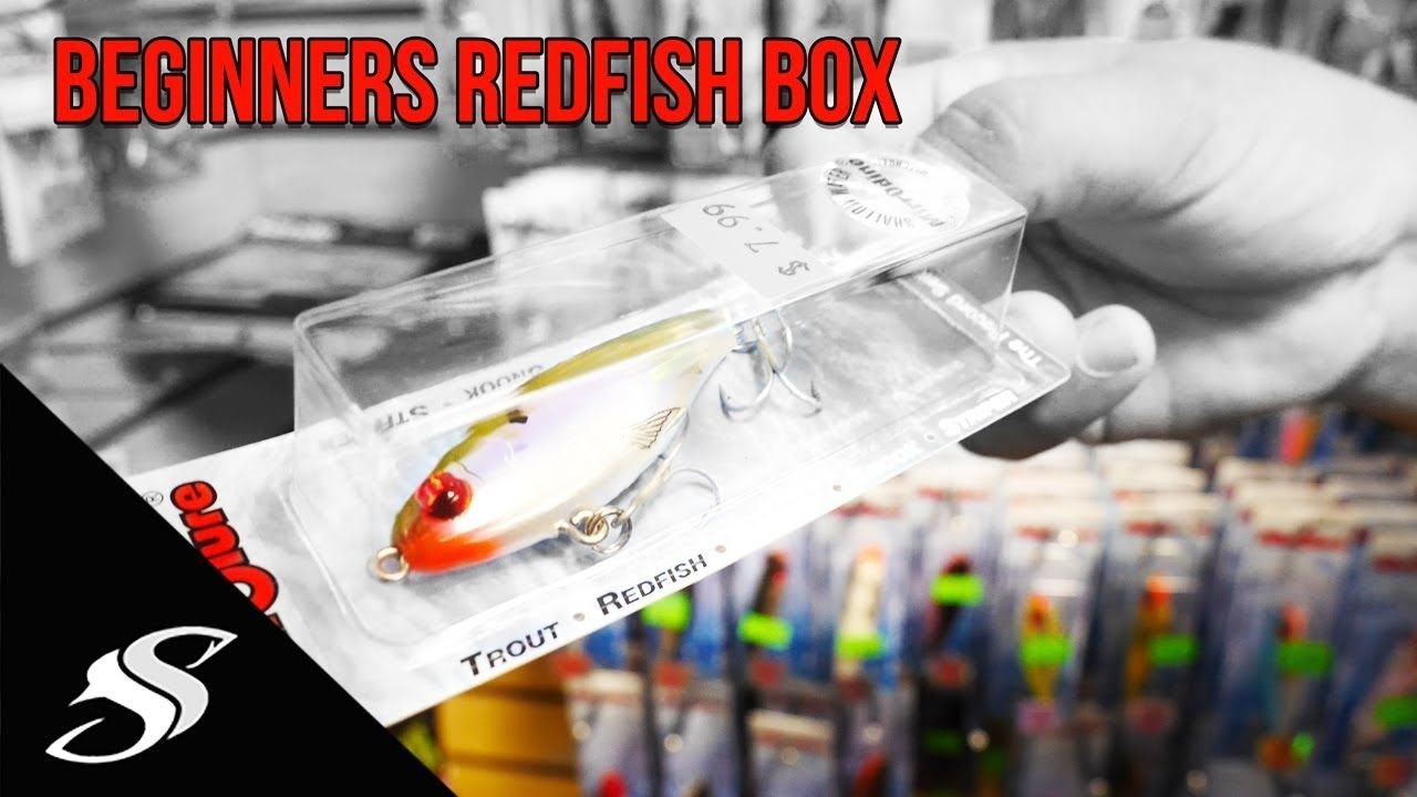 Beginners redfish tackle box im giving it away