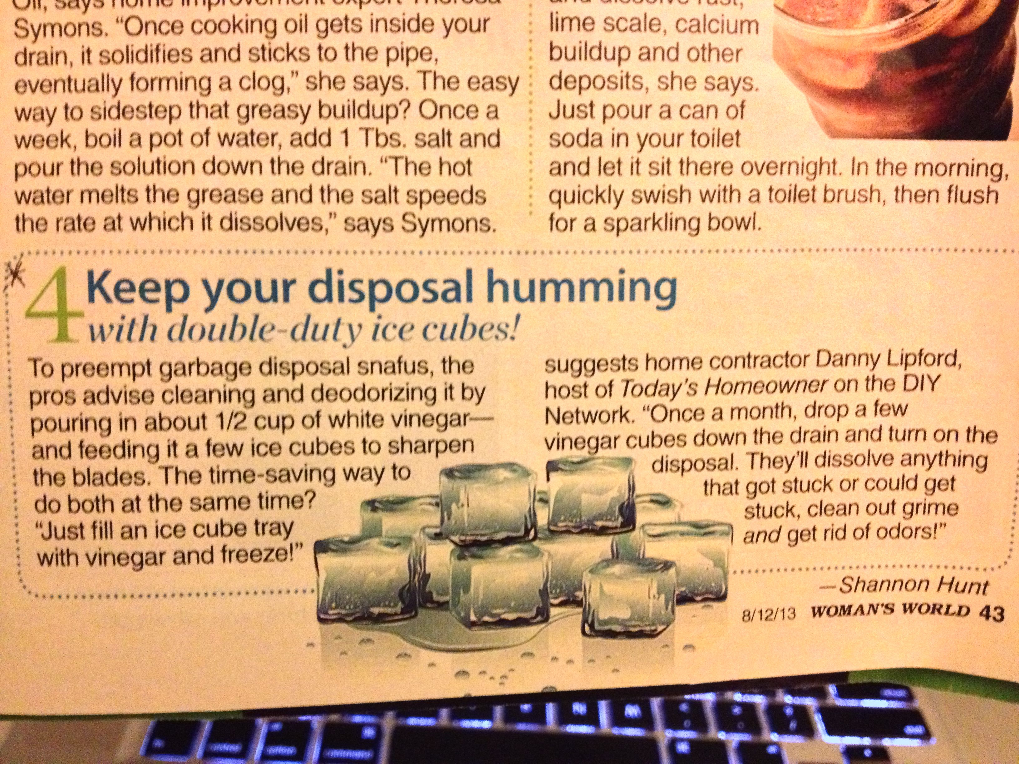 Keep Your Disposal Humming Cooking Oil Canning Lime