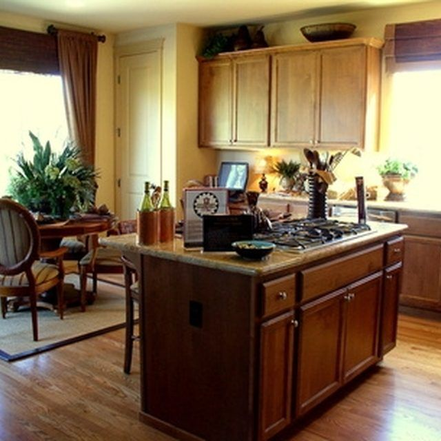 How to Clean Stained-Wood Kitchen Cabinets   Clean kitchen ...