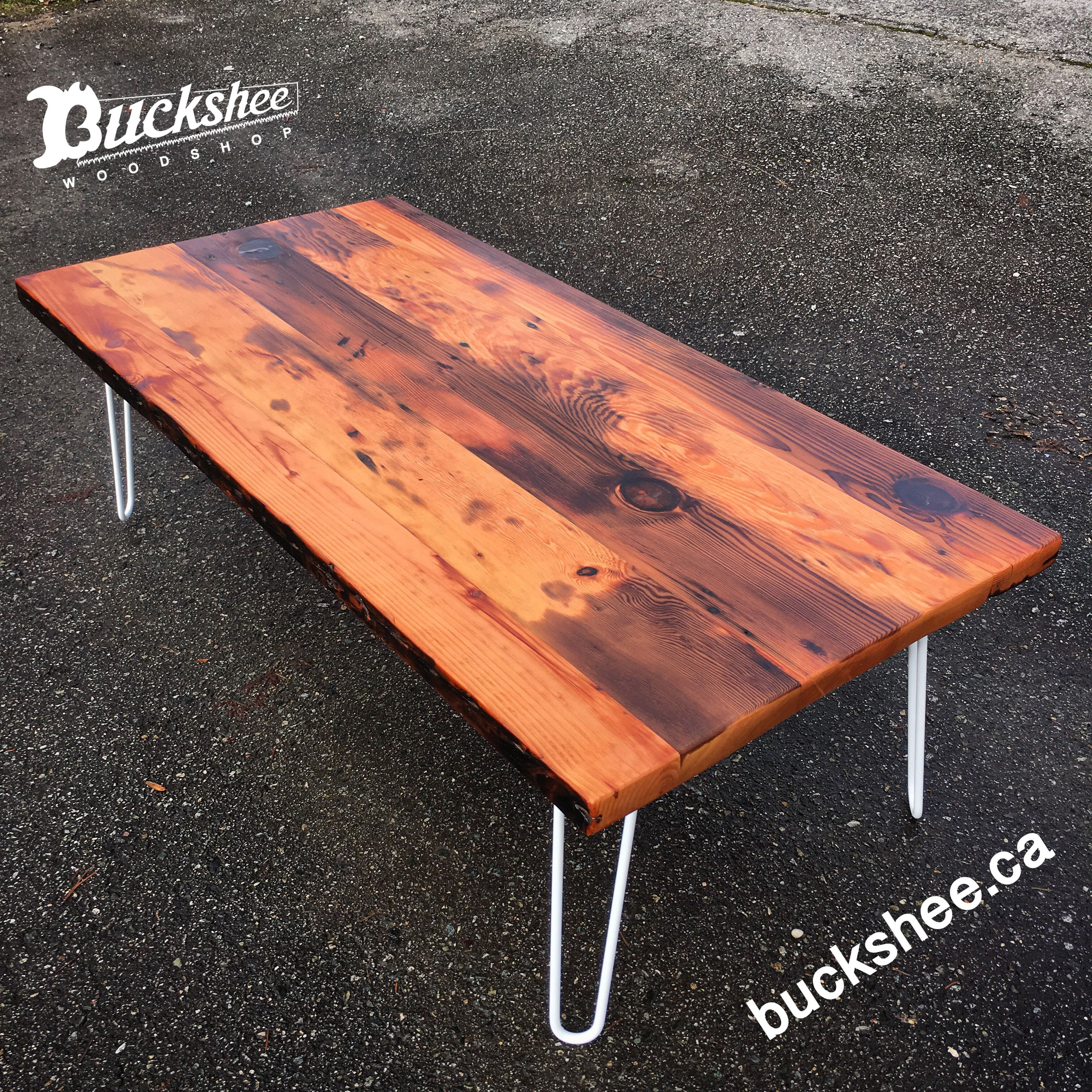 BUCKSHEE Woodshop in Vancouver B.C. Custom pieces using reclaimed wood.....absolutely stunning furniture! Glad to find you guys!