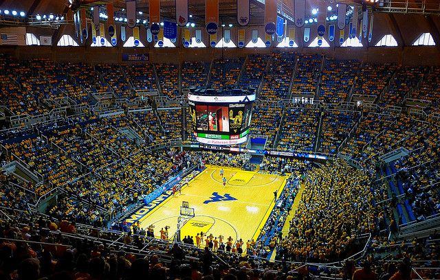 Inside WVU Coliseum | Country roads take me home, West virginia, West virginia university