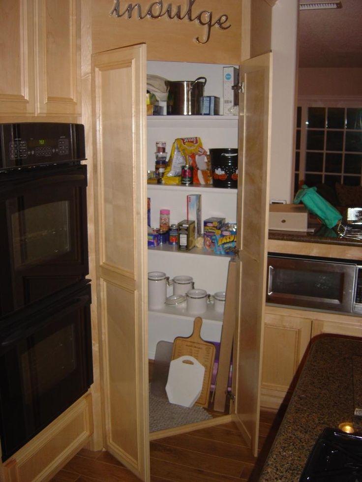 diy small kitchen corner pantry - Recherche Google | déco | Pinterest