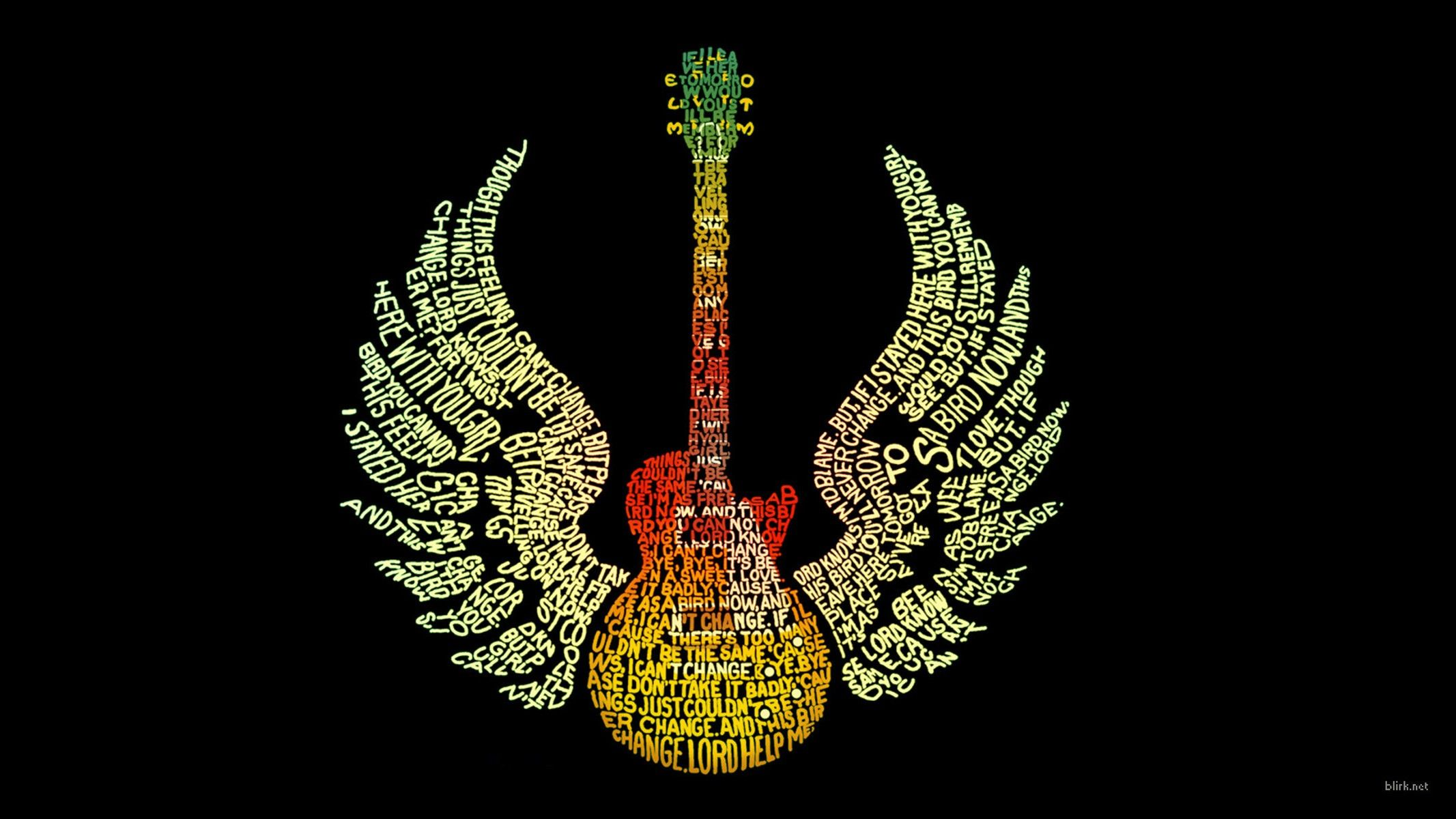 84 Animation Wallpapers For Mobile Phone And Desktop Pc Typography Wallpaper Guitar Pics Animated Wallpapers For Mobile
