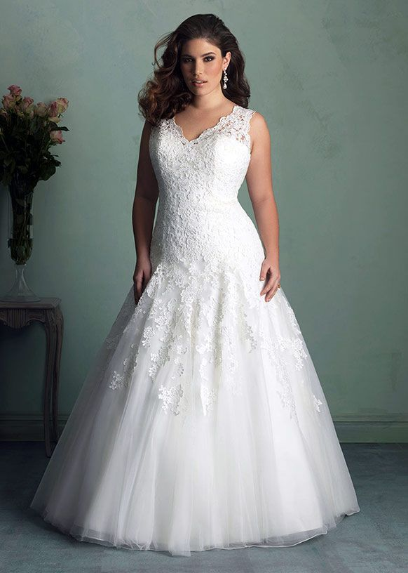 9 Top Shopping Tips For The Plus Size Bride | Allure bridal, Wedding ...