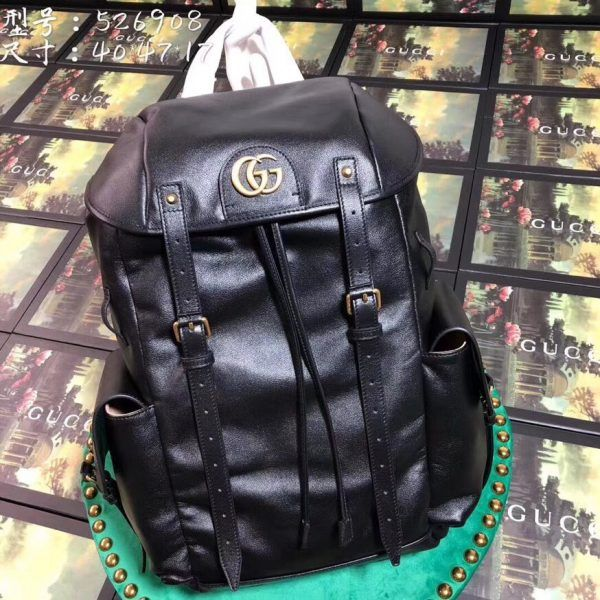 d39c7048e87a43 Gucci 526908-1 RE(BELLE) leather backpack | Gucci Backpack | Leather ...