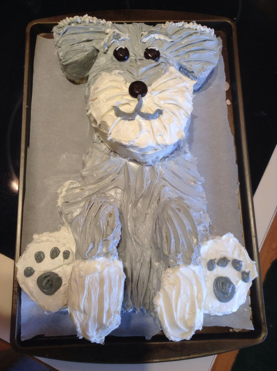 Schnauzer Cake Mini Schnauzer Dog Cakes Schnauzer Art