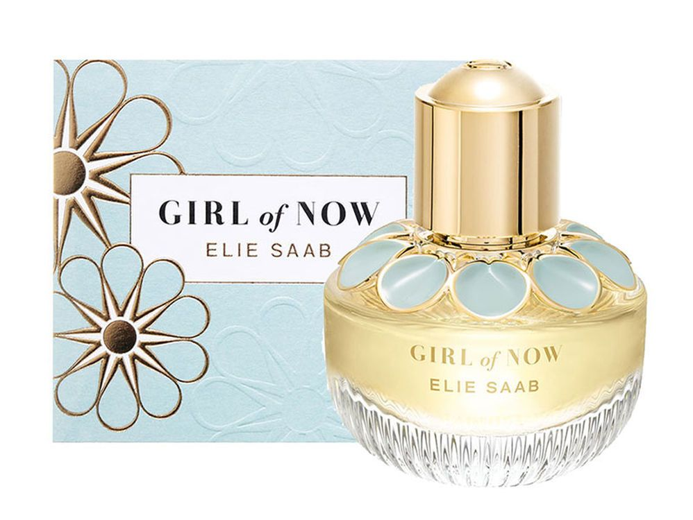 5f49b1d953aa1 Girl of Now Shine by Elie Saab is a floral, amber and gourmand composition  designed