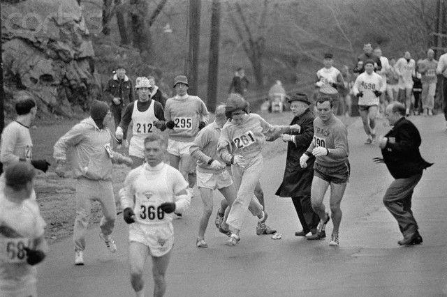 moment of women's marathon