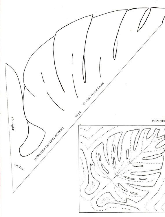 Hawaiian Quilting Patterns Mirror Images Pineapple Anthurium Birdof ...