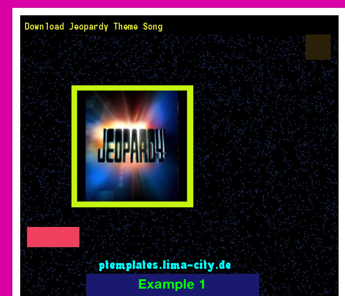 Images of Final Jeopardy Theme - #rock-cafe