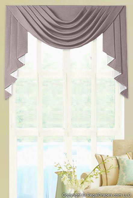 Custom Valances Select Style Regal Drapes Custom Valances Window Swags Curtains And Draperies
