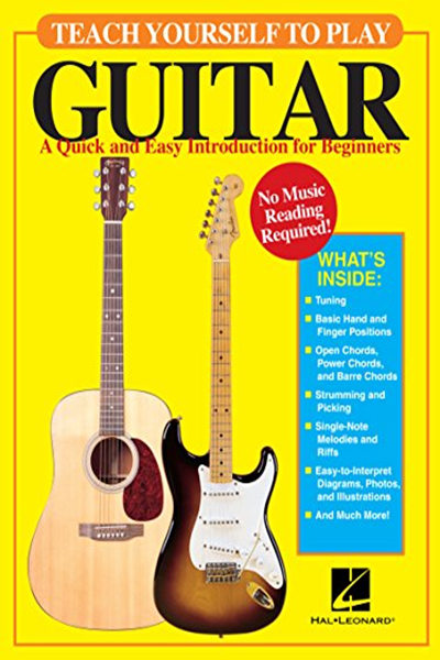 Teach Yourself To Play Guitar A Quick And Easy Introduction For Beginners By David M Brewster Hal Leonard Teach Yourself Guitar Guitar For Beginners Guitar Books