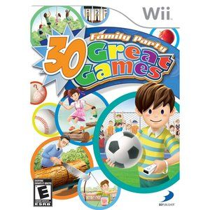 30 Great Family Party Games Wii Family Party Games Wii Family Parties