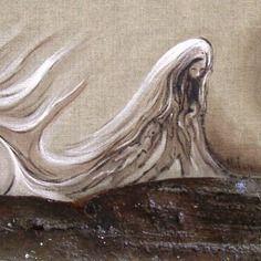 """Art technique mixte"""" le vague à l'âme"""""""