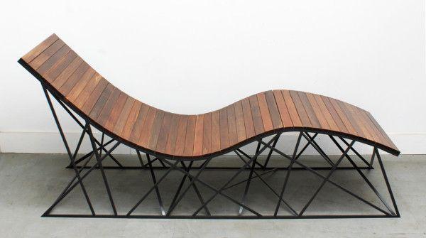 Cyclone lounger by uhuru tiles pinterest muebles dise o industrial y madera - Muebles diseno industrial ...
