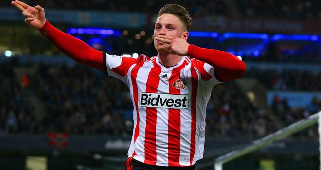 Connor Wickham: Scored twice as Sunderland took a point from the Etihad Stadium
