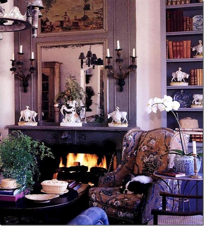 Cozy living room, Tumblr.