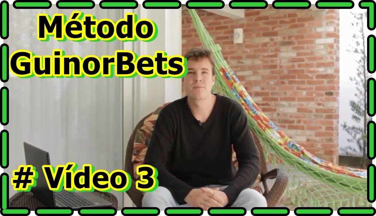 Vídeo 3 (Metodo GuinorBets) 3.750,00 Sem Riscos GuinorBets
