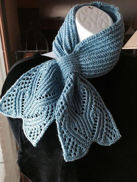Free, Ravelry: Everest Scarf p | Scarf knitting patterns ...