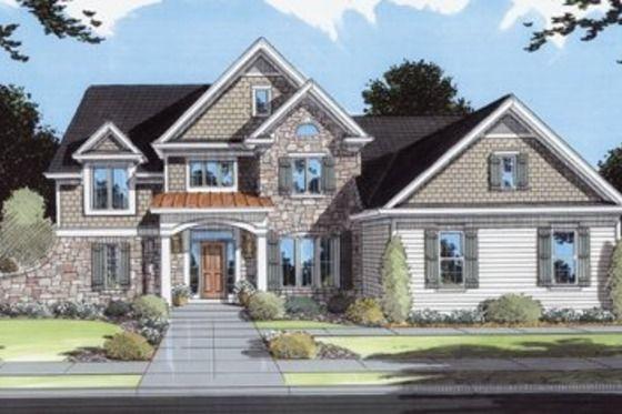 House Plan 46-110 + sun room and back patio