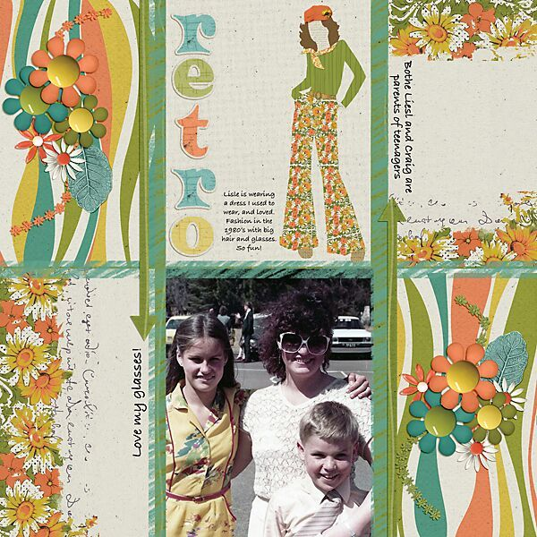 Layout by Andrea Hutton using Flower Power